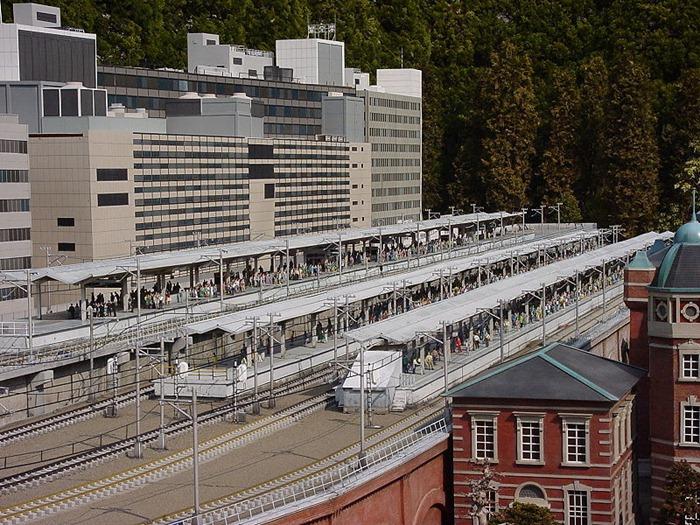 حديقة باليابان فيها نماذج مصغره العالم Tobu_World_Square_To